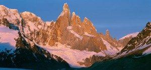 Argentinien Berge mit Schnee